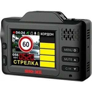 Видеорегистратор автомобильный с радар-детектором SHO-ME COMBO DRIVE SIGNATURE