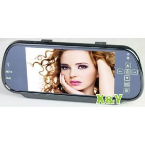 """Автомобильное зеркало заднего вида с 7"""" сенсорным экраном XY-2037"""