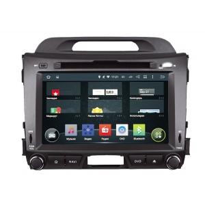 Штатная автомагнитола на Android INCAR AHR-1881 для Kia