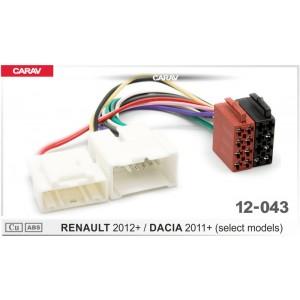 ISO переходник CARAV 12-043 для Renault