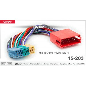 ISO переходник CARAV 15-203 для Audi