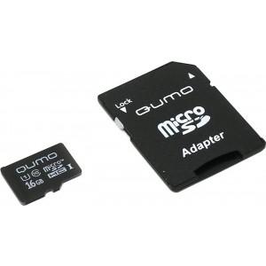 Карта памяти QUMO MICROSD 16GB