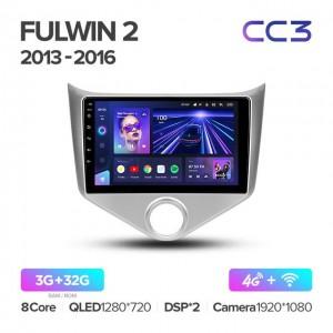 Штатная автомагнитола на Android TEYES CC3 для Chery Fulwin 2 Very A13 2013-2016