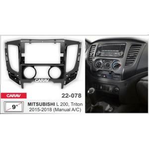 Переходная рамка CARAV 22-078 для Mitsubishi
