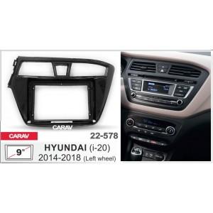 Переходная рамка CARAV 22-578 для Hyundai