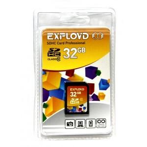 Карта памяти EXPLOYD SDHC 32GB