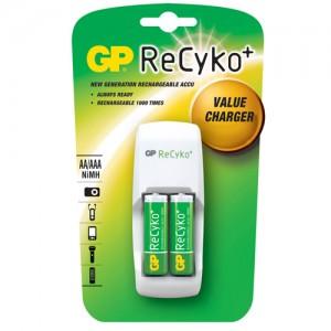 Зарядное устройство GP GPAR02GS210B-CR2 RECyko+