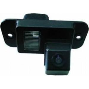 Штатная камера заднего вида PHANTOM CA-T014 для SsangYong Actyon