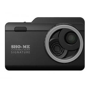 Видеорегистратор автомобильный с радар-детектором SHO-ME COMBO SLIM SIGNATURE