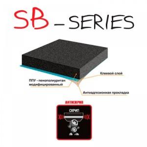 Противоскрипные материалы Kicx SB-series 10 мм