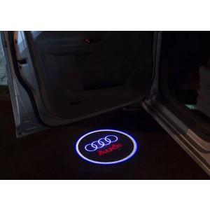 Подсветка в двери AUDI