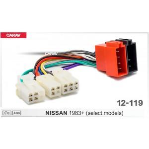 ISO переходник CARAV 12-119 для Nissan
