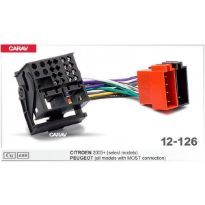 ISO переходник CARAV 12-126 для Peugeot