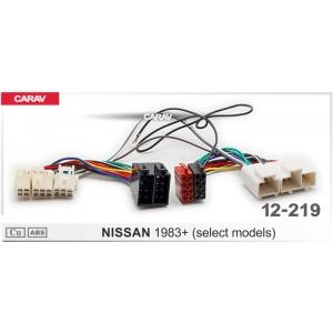 ISO переходник CARAV 12-219 для Nissan