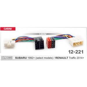 ISO переходник CARAV 12-221 для Renault