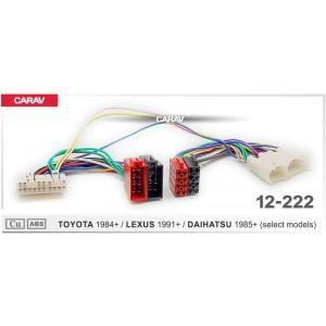 ISO переходник CARAV 12-222 для Lexus