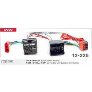 ISO переходник CARAV 12-225 для Skoda
