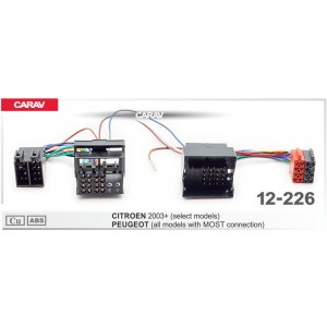 ISO переходник CARAV 12-226 для Citroen
