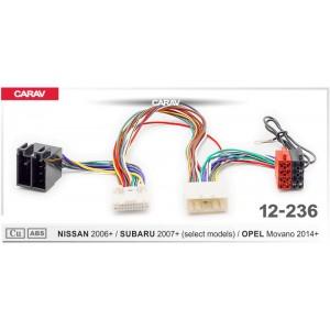 ISO переходник CARAV 12-236 для Nissan