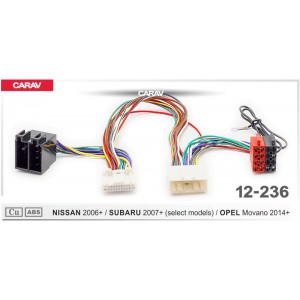 ISO переходник CARAV 12-236 для Opel