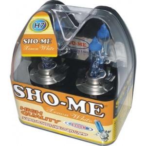 Галогеновая лампа SHO-ME H7 (12V60/55W) ЗА 2 ШТ.
