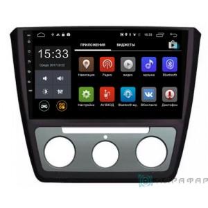 Штатная автомагнитола на Android PARAFAR PF994 для Skoda