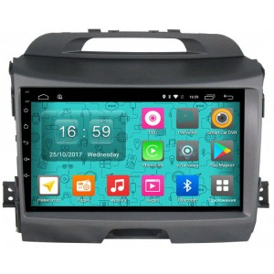 Штатная автомагнитола на Android PARAFAR PF537N для Kia