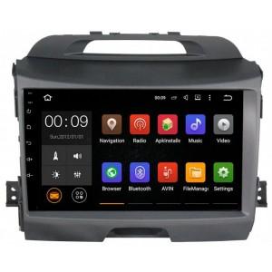 Штатная автомагнитола на Android PARAFAR PF537 для Kia