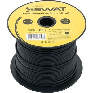 Монтажный кабель SWAT SAW-18BK