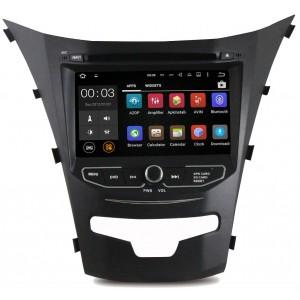 Штатная автомагнитола на Android PARAFAR PF355D для SsangYong