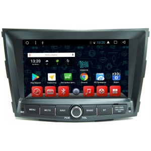 Штатная автомагнитола на Android PARAFAR PF011K для SsangYong