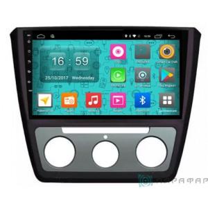Штатная автомагнитола на Android PARAFAR PF994N для Skoda