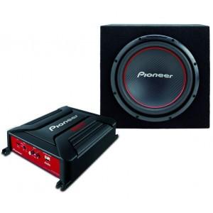 Комплект сабвуфер + усилитель PIONEER GTX-3604BR