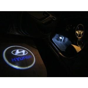 Подсветка в двери NONAME для Hyundai (1ШТ.) БЕСПРОВОДНАЯ АВТОНОМНАЯ