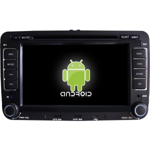 Штатная автомагнитола на Android TONGHAI CREATE KR-7003S для SKODA 7 (с DVD-приводом)