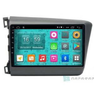 Штатная автомагнитола на Android PARAFAR PF132N для Honda