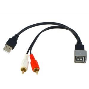 USB-AUX переходник INCAR CON USB-AUX для Renault, Lada