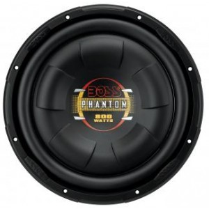 Автосабвуфер BOSS AUDIO D10F