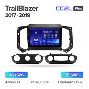Штатная автомагнитола на Android TEYES CC2L Plus для Chevrolet TrailBlazer Colorado 2017-2019