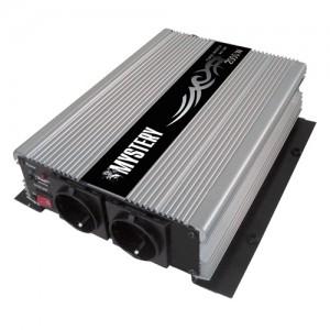 Автомобильный инвертор напряжения MYSTERY MAC-2000