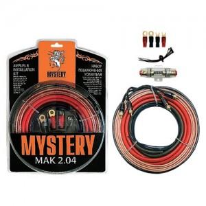 Набор для подключения 2-х канального усилителя Mystery MAK-2.04