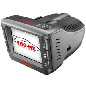 Видеорегистратор автомобильный с радар-детектором SHO-ME Combo Wombat