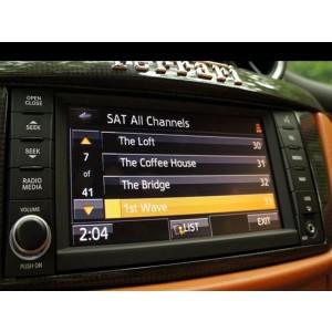 Мультимедийный интерфейс GAZER VI700A-FERR для Ferrari с установленной системой Ferrari