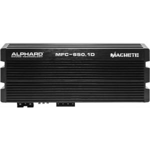 Автоусилитель ALPHARD MACHETE MFC-650.1D