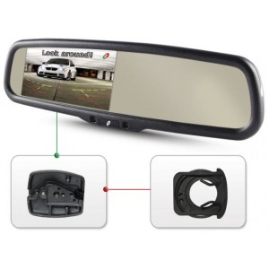 Зеркало для камеры заднего вида с монитором GAZER MU500 для Hyundai, Kia, Mitsubishi, Chevrolet, Geely, SsangYong