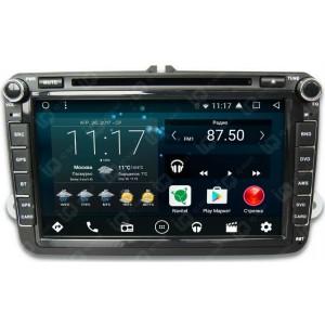 Штатная автомагнитола на Android IQ NAVI D44-2502C для Skoda
