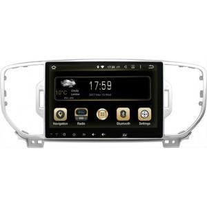 Штатная автомагнитола на Android GAZER CM50-QL для Kia