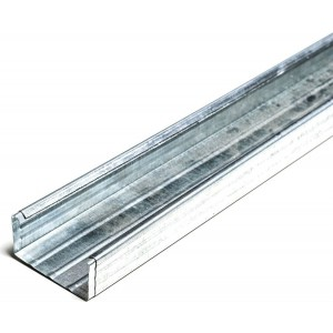 Металлический звукоизолирующий профиль STP SURDOPROFILE (50Х50Х3000)