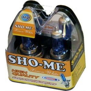 Галогеновая лампа SHO-ME H4 (12V60/55W) ЗА 2 ШТ.