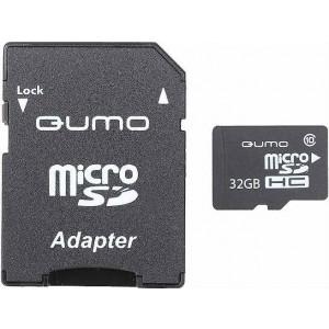 Карта памяти QUMO MICROSDHC (CLASS 10) 32GB